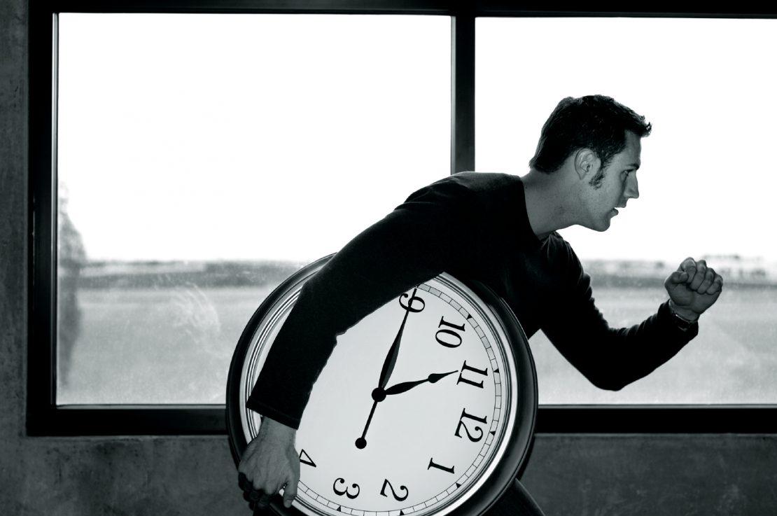 время летит быстрее