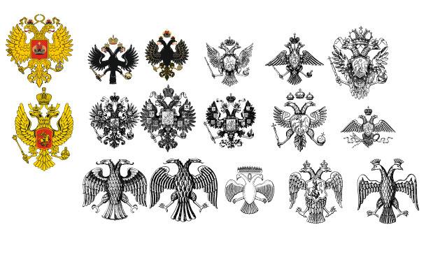 на что похож герб россии