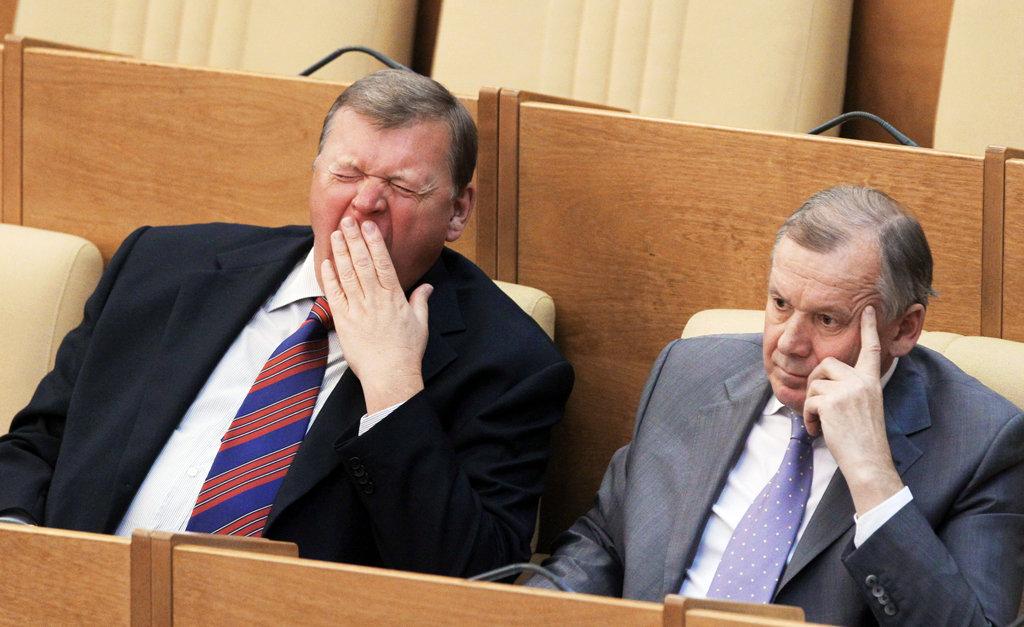 зарплаты депутатов в России
