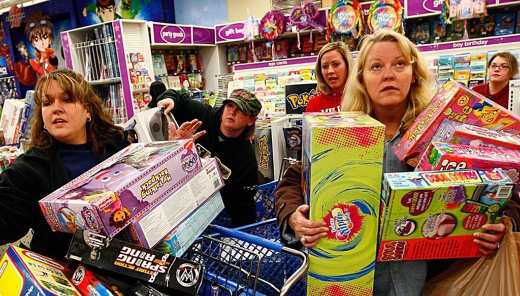импульсивные покупки в магазинах